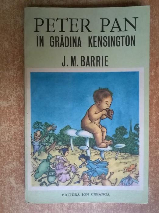 J. M. Barrie ? Peter Pan in Gradina Kensington foto mare