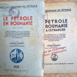 Mihail Pizanty - Le Petrole en Roumanie {1933 + Extrait, 2 volume}