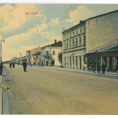 3539 - Teleorman, ALEXANDRIA, Carol Street - old postcard - used - 1910 - Carte Postala Muntenia 1904-1918, Circulata, Printata