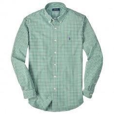 Camasa superba Ralph Lauren slim fit M - Camasa barbati Ralph Lauren, Marime: M, Culoare: Verde, Maneca lunga