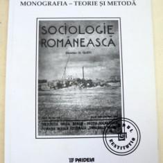 SOCIOLOGIE ROMANEASCA-D. GUSTI, T.HERSENI, H.H.STAHL, 1999 - Carte Sociologie