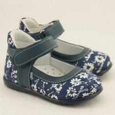 Pantofiori Emel Shoes - Marimea 21 - Balerini copii, Culoare: Bleumarin