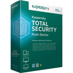 Antivirus Kaspersky Total Security Multi-Device 2015 3 useri 1 an Base License Electronic