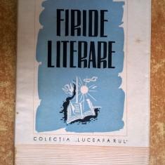 Ernest Bernea - Firide literare {1944}