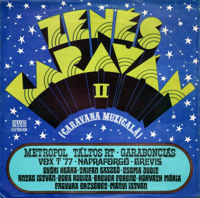 caravana muzicala 1 si 2-zenes karavan LP VINIL VINYL foto
