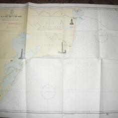 Harta navigatie- Marea Neagra -parte Vest de la Capul Midia la Gura Sulina 1970