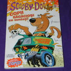 Scooby Doo nr 6 - Copii bagaciosi ce sunteti benzi desenate romana (1830 - Reviste benzi desenate