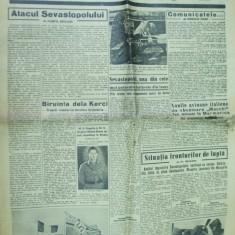 Curentul 12 iunie 1942 Kerci Mihai I Sevastopol Nicodim Tiganesti Odesa canibal - Ziar
