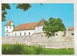 Bnk cp Cetatea Fagarasului - Vedere - circulata, Printata, Fagaras