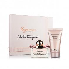 SET SIGNORINA 100 ML EDP + 100 ML BL - Set parfum Salvatore Ferragamo