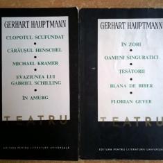 Gerhart Hauptmann – Teatru {2 volume} - Carte Teatru