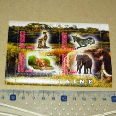 Colita nestampilata MNH Fauna africana Congo 2013 2+1 gratis RBK19697