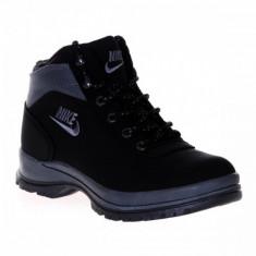 Bocanci Nike mandara - Bocanci barbati, Marime: 36, 40, Culoare: Negru, Piele sintetica
