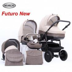 Carucior FUTURO - Grupa 0+ (3 in 1) - Carucior copii 3 in 1