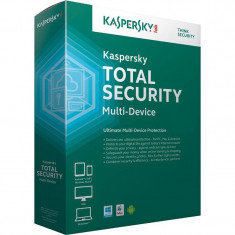 Antivirus Kaspersky Total Security Multi-Device 2015 1 user 1 an Base License Electronic