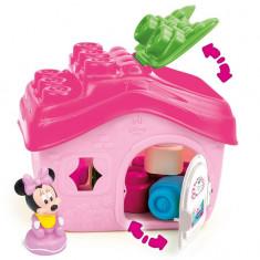 Set Clemmy Baby Minnie Casa+Cuburi Clemmy - Clementoni 14532 - Jucarie pentru patut