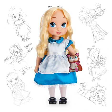 Papusa Alice Animator - Alice in Wonderland foto mare