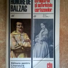 Honore de Balzac – Stralucirea si suferintele curtezanelor - Roman, Anul publicarii: 1969
