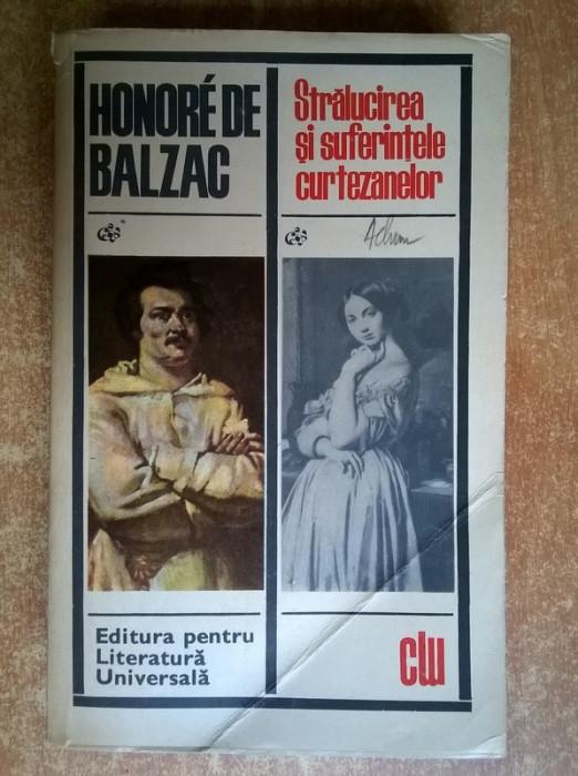Honore de Balzac – Stralucirea si suferintele curtezanelor foto mare