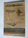 CATALOG/CARTE PUBLICITARA FABRICA PRODUSE ELECTROTEHNICE HELIOGEN,GERMANIA 1931