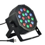 Proiector Par Led Flat Par Light RGB x18  Club  Aparat de joc lumini