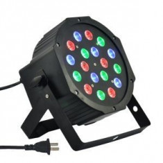 Proiector Par Led Flat Par Light RGB|x18 |Club| Aparat de joc lumini - Lumini club