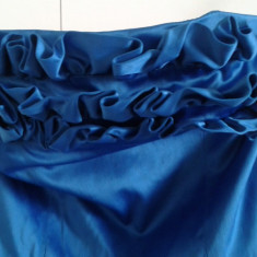 Rochita de seara albastra - Rochie de club, Culoare: Albastru, Marime: 36, Cu bretele