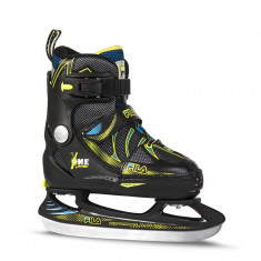 Patine copii Fila X-One Black Yellow