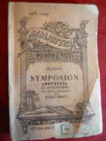 Platon - Symposion -Ed.1921 trad. V.Grecu BPT 1103