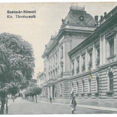 3527 - SATU-MARE - old postcard, CENSOR - used - 1915, Circulata, Printata