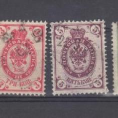 Rusia tsarista lot timbre stampilate de la 1889(2), Regi