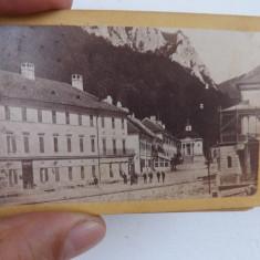 Lot de 6 fotografii cu Baile Herculane.Anii 1870. - Fotografie, Alb-Negru, Natura, Romania pana la 1900