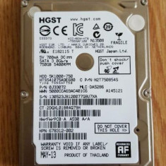 Hard disk laptop HGST 750 GB - HDD laptop