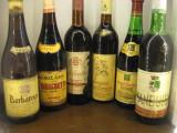 6 sticle vin lotto ( L ) recoltare 1970/1971/1972/1973/1983, Sec, Rosu, Europa