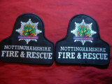 2 Embleme de umar - Pompierii din Nothingham Anglia