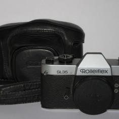 Rolleiflex SL35 - Body + Capac, husa si curea - Originale - Raritate! - Aparat Foto cu Film Rollei