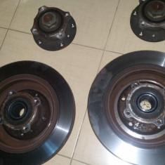Set discuri frana spate + butuci cu rulmenti fata si spate BMW OEM E39, 5 (E39) - [1995 - 2003]
