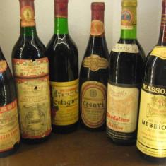 6 sticle vin lotto ( U ) recoltare 1965/1966/1967/1974/1979/1983 - Vinde Colectie, Aroma: Sec, Sortiment: Rosu, Zona: Europa