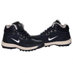 Bocanci NIKE - inblaniti - Bocanci barbati Nike, Marime: 40, Culoare: Negru, Piele sintetica