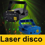 Laser disco lumini club