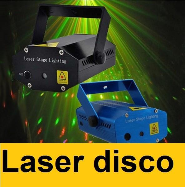Laser disco lumini club