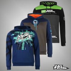 Nou! Hanorac pulover bluza barbati No Fear original - S M L XL XXL XXXL - Hanorac barbati, Culoare: Albastru, Gri, Negru