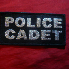 Emblema de umar Police Cadet  ,L=9,8 cm Anglia