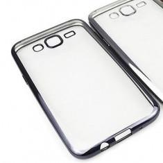 Husa Samsung Galaxy J3 2016 TPU Margine Neagra - Husa Telefon Samsung, Negru, Gel TPU, Fara snur, Carcasa