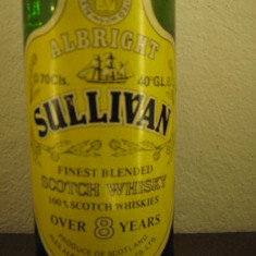 whisky  sullivan,  cl 70 gr 40 ani 90 over 8 years