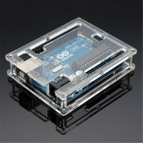 Carcasa pentru Arduino UNO R3 Transparent Acrylic Case Box
