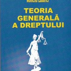 MOMCILO LUBURICI - TEORIA GENERALA A DREPTULUI - Carte Teoria dreptului