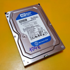 104E.HDD Hard Disk Desktop, 320Gb, Western Digital, 7200Rpm, 8MB, Sata II, 200-499 GB, SATA2