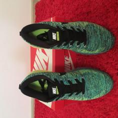 Nike Air Max Flyknit marimea 42 - Adidasi barbati Nike, Marime: 41-42, Culoare: Verde