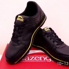 Adidasi Slazenger Indonesia piele naturala. Livrare gratuita - Adidasi dama Skechers, Culoare: Alb, Bleumarin, Marime: 36, 37, 38, 38.5, 39, 40
